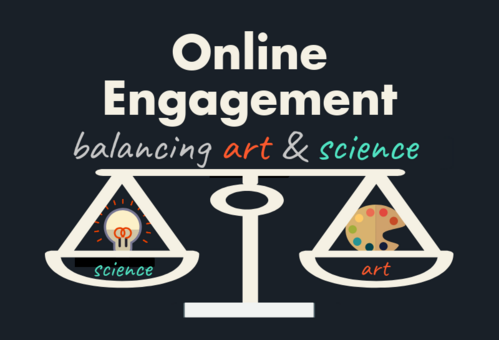 Online Engagement Infographic, Mulligan Management Group